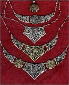 The Beading Gem's Journal: Vault of Valhalla - Viking, Celtic and Anglo-Saxon Inspired Jewelry