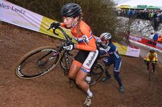 Sophie De Boer in action during the women's world champs