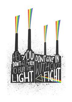 Pink Floyd Print Poster Battersea Power Station by FoxAndVelvet
