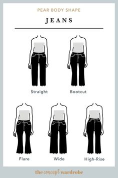 In this section, we explore how to dress the pear body shape to achieve a balanced silhouette. Make sure to check all body shapes that apply to you. Pear Shaped Celebrities, Pear Shaped Women, Pear Shaped Outfits, Apple Body Shape Outfits, Pear Shape Fashion, Triangle Body Shape, Rectangle Shape, Hourglass Figure Outfits, Hourglass Body Shape