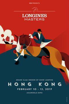 Longines Masters on Behance