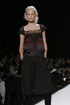 Crochetemoda: Crochet na Passarela