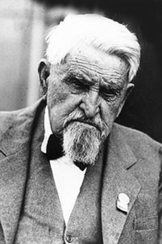 Charles Goodnight. This picture, taken late in life, was probably taken at an annual gathering of the Texas and Southwestern Cattle Raisers Association.
