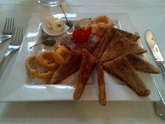 Beef tartare with rocket truffle cream @ Restaurant Hebenstreit