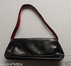 "#ebay Victoria Secret black hobo style women bag (11""x4.5""x2"", drop 7"") withing our EBAY store at  http://stores.ebay.com/esquirestore"