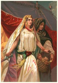 Judith a warrior for The LORD..