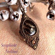 Macrame Necklace-nica