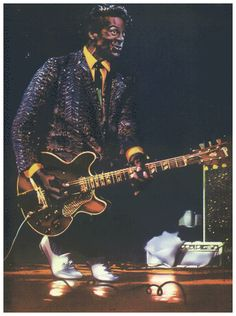 Chuck Berry by Guy Peellaert Chuck Berry, Music Publishing, Rock And Roll, Berries, Guys, Illustration, Rock Roll, Rock N Roll, Bury