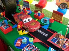 """""""Cars 2 Party"""" by Treasures and Tiaras Kids Parties, via Flickr"""