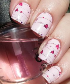 + 27 The Ultimate Solution For Valentines Nail Art Designs Heart Ring Finger You Can Find Out About Today 72 Love Nails, Pretty Nails, My Nails, Heart Nails, Valentine Nail Art, Valentines Gif, Valentine's Day Nail Designs, Super Nails, Halloween Nail Art