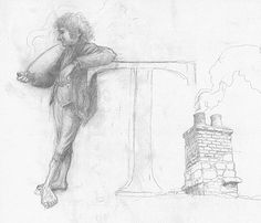 alan_lee_the lord of the rings_sketchbook_01_shire02_med.jpg (500×430)