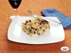 Lasagne verdi con agnello, dragoncello e patate rosse