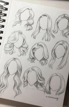 How to Draw Realistic Hair in Pencil