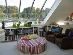 attic living room light