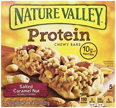 Nature Valley Protein Salted Caramel Nut Chewy Bar 71oz Box Pack of 4 *** Check this awesome product by going to the link at the image.