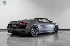 Matte Grey Audi R8 V10 Spyder on Modulare B18
