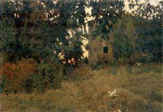 """Giorgio Kienerk (1869–1948), """"Tramonto Toscano"""" MUSEO GIORGIO KIENERK"""