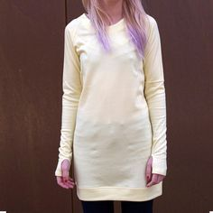 Yellow Jersey Dress, 59€, now featured on Fab.