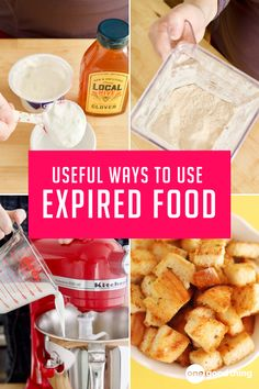 Even if you aren't planning on eating that slightly wilted food item in your fridge, you can still do something useful with it! Expired Food, Sous Vide, Southern Recipes, Food Gifts, Food Items, Fun To Be One, Food Hacks, Food Art, Holiday Recipes