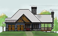 cabinhouse plans on Pinterest Traditional House Plans