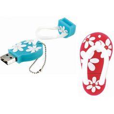 Clef USB 4Go en fome de Tong  #fetedesmeres #cadeau #maman