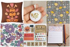 Monday Moodboard: Botanicals - Mollie Makes