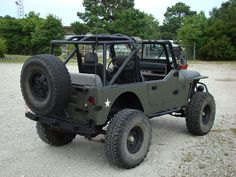 """YJ's with 6"""" lift and 35"""" tires"""
