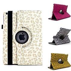 EUR € 18.39 - Capa de Couro Leopard Print Design 360 graus de giro PU com suporte para iPad iPad Air 5 (cores sortidas), Frete Grátis em Todos os Gadgets!