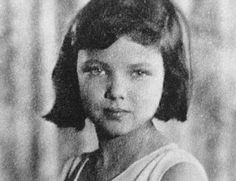 Gene Tierney when she was a little girl