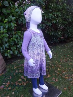 Vintage Crochet Dress & Scarf Pattern on Etsy - www.etsy.com/shop/crochetrenaissance