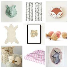 woodland nursery ideas love the crocheted ...
