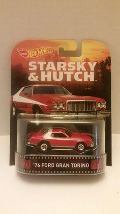 Hot Wheels 2015 Retro Entertainment Starkey and Hutch '76 Ford Gran Torino #HotWheels #starskyandhutch #'76grantorino