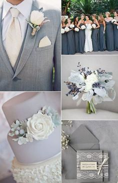 Grey is one of the classic and timeless colors that are good for any season and that easily blend with any other shades. It's perfect ...