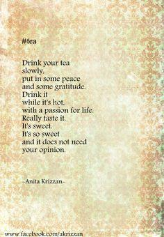 #tea Hashtag Series - Anita Krizzan -