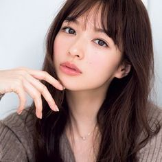 森絵梨佳 Japanese Makeup, Asian Makeup, Beautiful Asian Women, Cute Faces, About Hair, Messy Hairstyles, Bridal Makeup, Pretty Face, Hair Goals