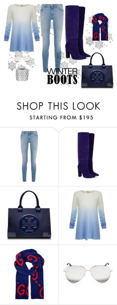 """""""s"""" by saj13 ❤ liked on Polyvore featuring Givenchy, Barbara Bui, Tory Burch, Joie, Gucci, Victoria Beckham and Tom Ford"""