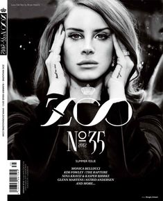 tattoo placement (Lana del Rey Reflects in Zoo Magazines Summer Cover Shoot)