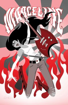 Boom! Announces 'Adventure Time: Marceline And The Scream Queens' Comic - ComicsAlliance | Comic book culture, news, humor, commentary, and reviews