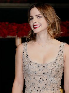 "Emma Watson at the ""Beauty and the Beast"" Premiere in Shanghai, China  Pinned by @lilyriverside"