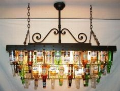 I'm more of a labels off kinda gal but neat thought to reuse beer bottles :)