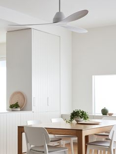 Whitehaven 3 Blade DC Fan only in White Living Room Ceiling Fan, Living Room White, Living Room Interior, Living Room Furniture, Ceiling Fans Without Lights, Ceiling Fan Makeover, White Ceiling Fan, Wall Treatments, Bedroom Inspo