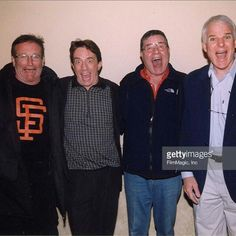 Robin Williams, Martin Short, Jerry Lewis, Steve Martin - comedians (Getty)