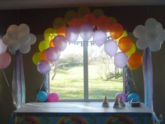 Care bears theme party