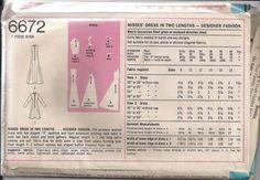 Vintage 70s UNCUT Sewing Pattern MAXI DRESS by HoneymoonBus