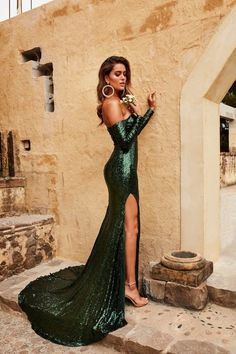 Methodical Gold Sparkling Mermaid Formal Evening Gowns Real Photo Long Prom Dress 2015 Crystal Special Occasion Dresses Backless Vestidos Attractive And Durable Weddings & Events