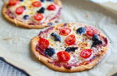 This is seriously the best paleo pizza crust I have ever made. It's grain-free, nut-free and can be used to make small or large pizzas with your favourite toppings on top. Pizza Recipes, Paleo Recipes, Paleo Food, Paleo Kids, Paleo Bread, Paleo Meals, Healthy Kids, Healthy Food, Paleo Pizza Crust