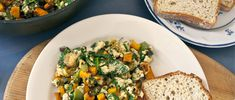 Start your day off right by amping up your vitamin and mineral intake with this hearty sweet potato scramble recipe.