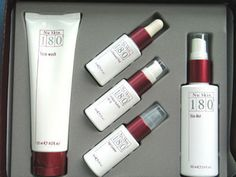 I use this set everyday! Nu Skin 180 System <3