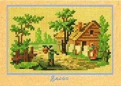 Gallery.ru / Фото #10 - 9 - 10beads Vintage Embroidery, Embroidery Patterns, Cross Stitch Patterns, Berlin, Victorian Pattern, Vintage Wool, Pattern Books, Pixel Art, Needlepoint