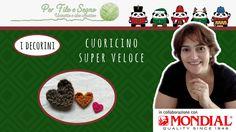 Cuoricino Super Veloce #heart crochet applique free #free pattern #per filo e segno #cuore all'uncinetto #cuore #cuore decoro #video tutorial